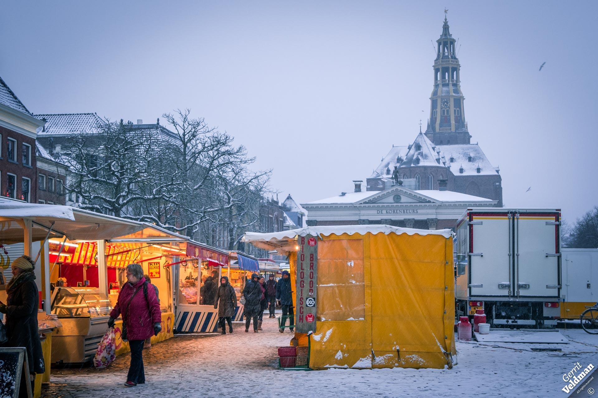 Markt in Groningen