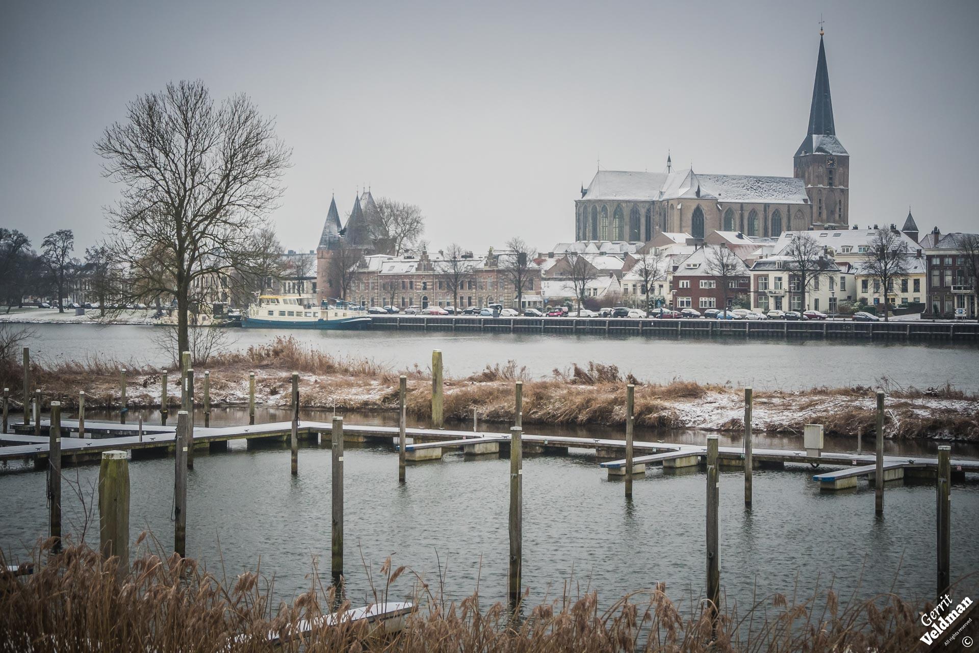 Passantenhaven in de winter