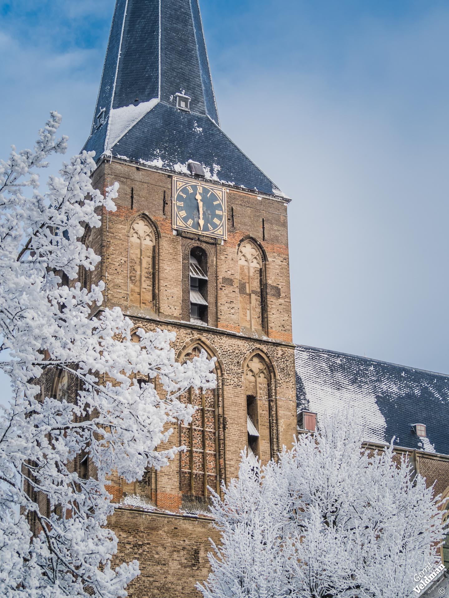 Bovenkerk in de winter