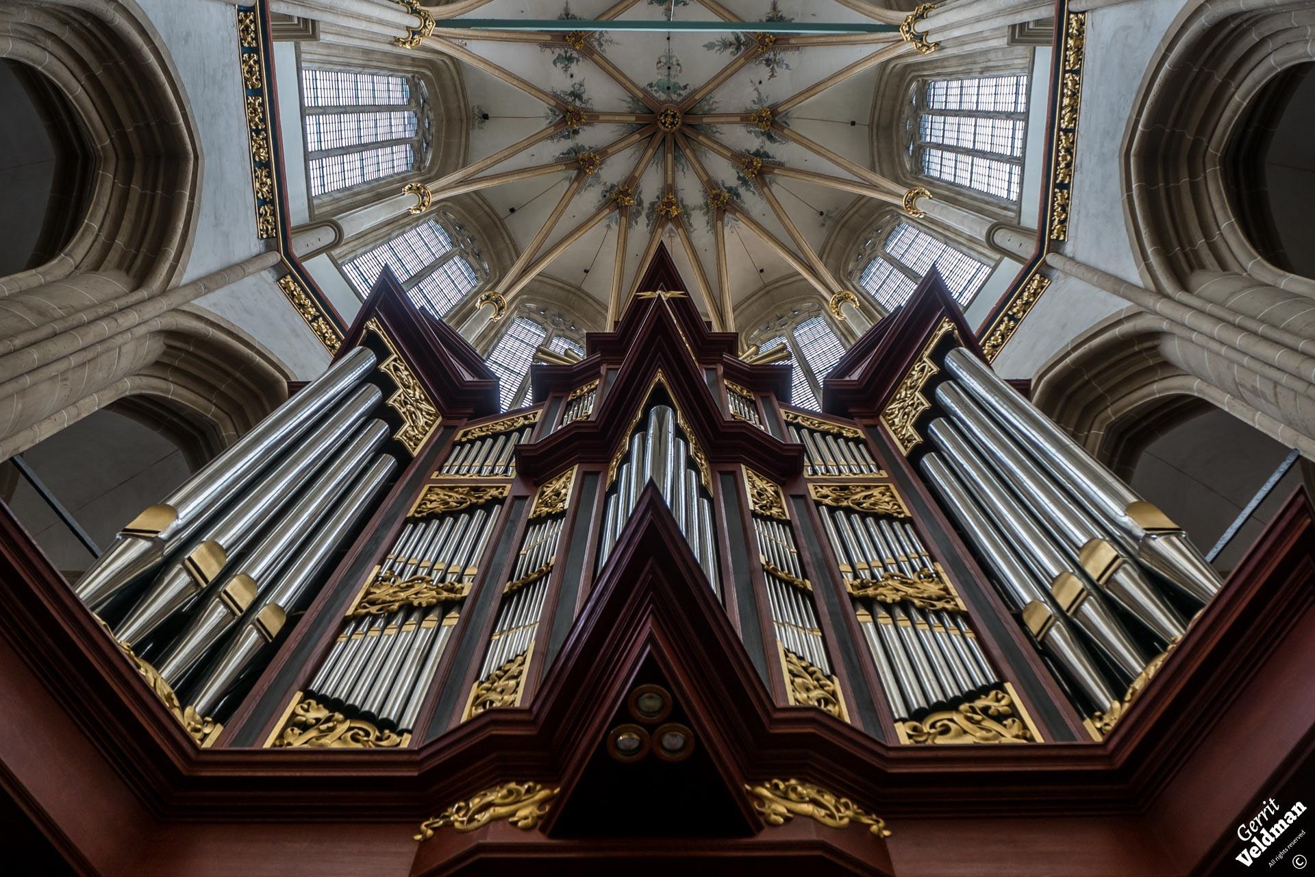 Reil-orgel, Bovenkerk, Kampen