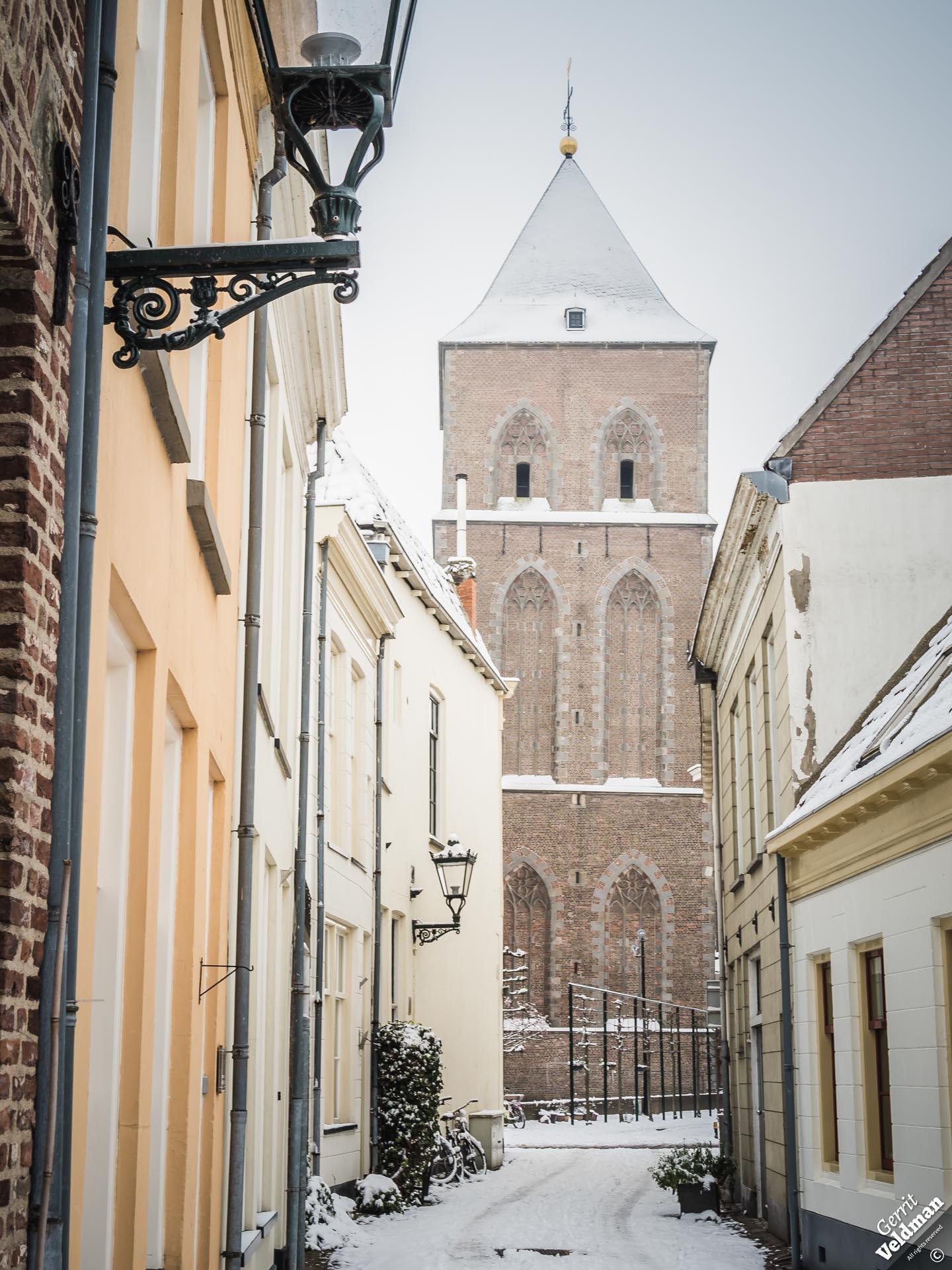 De toren van de Buitenkerk