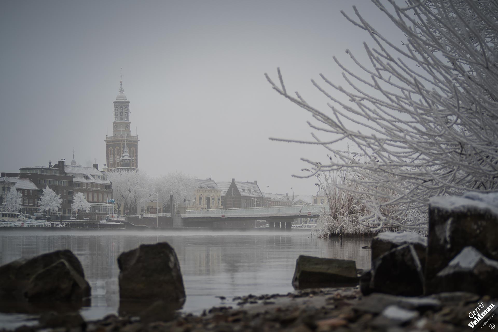 Winters IJsselfront