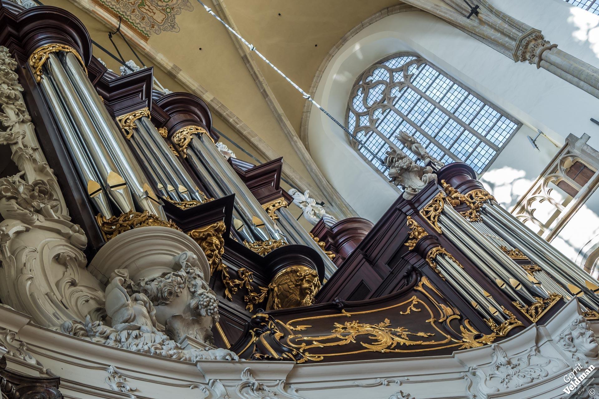 Kam-orgel, Grote Kerk, Dordrecht