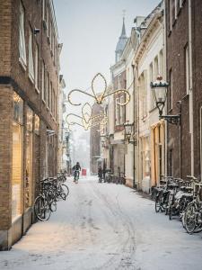 Sneeuw in de Broederstraat