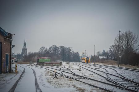 Spooremplacement van Kampen