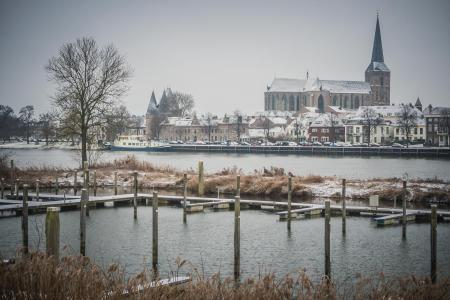 Passantenhaven in de winter