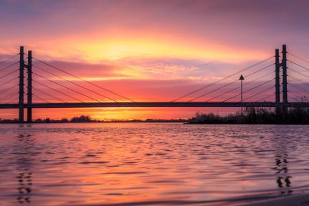 Zonsopgang bij de Molenbrug