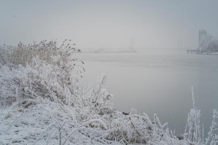 Winter op de IJssel