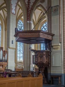 Preekstoel, Walburgiskerk, Zutphen