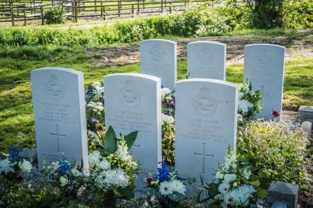 Oorlogsgraven, Grafhorst