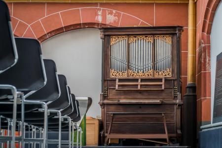 Kabinetorgel, Walburgiskerk, Zutphen