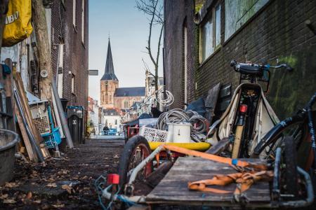 Rommel aan de Boven Havenstraat