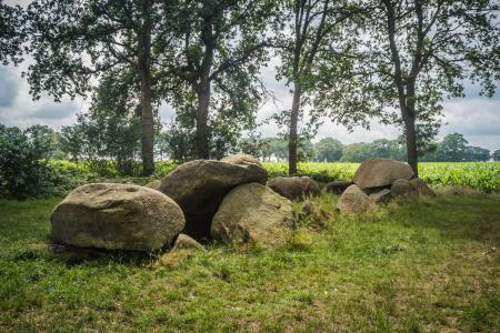 Hunebed D51 bij Noord-Sleen